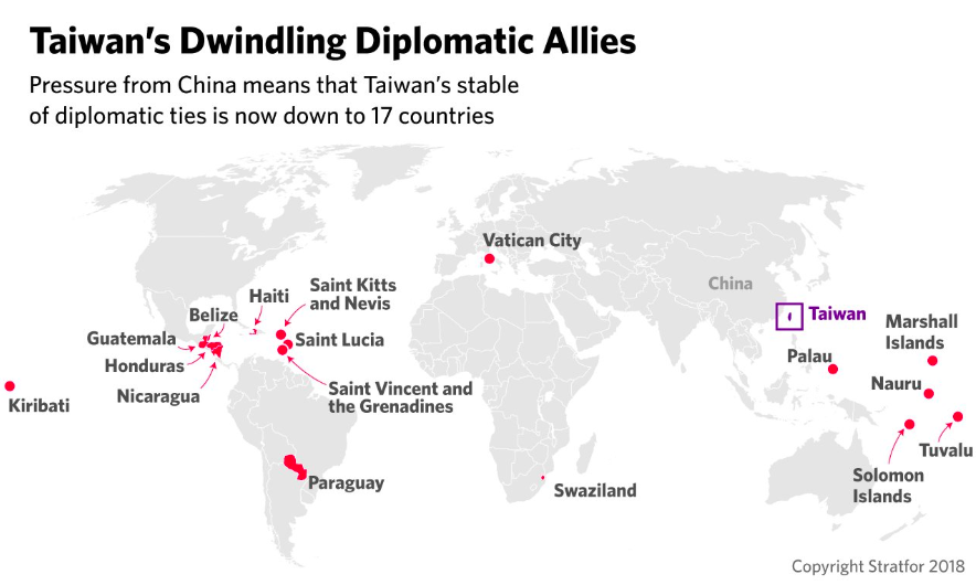 Taiwan's Allies—Stratfor